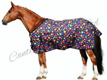 Lightweigh No Fill Bubble Print Turnout Rug